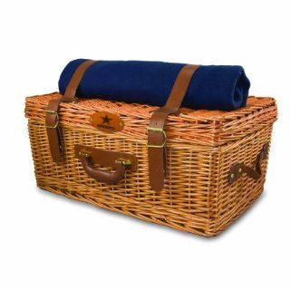 NFL Dallas Cowboys Windsor Picnic Basket with Service for Four Sports & Outdoors