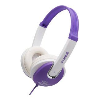 Groov e GV590VW Kids DJ Style Headphone   Violet/White Electronics