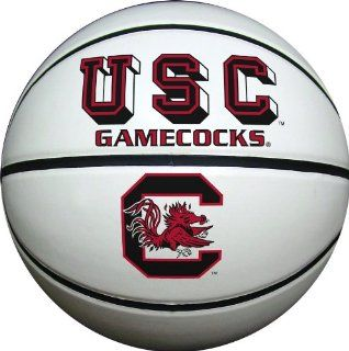 South Carolina Gamecocks Official Size Synthetic Leather Autograph Basketball  Sports & Outdoors