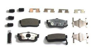 VGX MF595K Complete Brake Pad Kit With Hardware Automotive