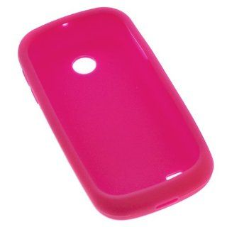 GTMax Hot Pink Soft Rubber Silicone Skin Protector Cover Case for AT&T Samsung Eternity II SGH A597 GSM Cell Phone Cell Phones & Accessories