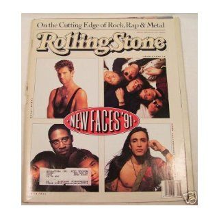 NEW FACES 91 ISSUE # 602   ROLLING STONE MAGAZINE APRIL 18TH, 1991 ROLLING STONE Books