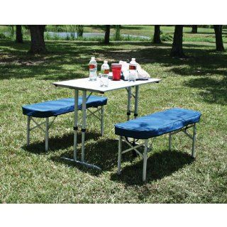 Texsport Folding Picnic Table  Camping Tables  Sports & Outdoors