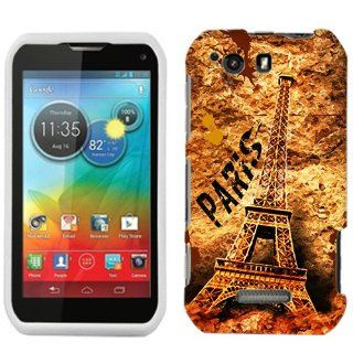 Motorola Photon Q Paris Eiffel Tower Art Phone Case Cover Cell Phones & Accessories