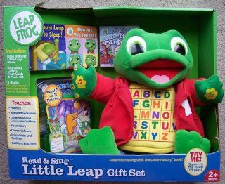 Leap Frog Read & Sing Little Leap Gift Set Toys & Games