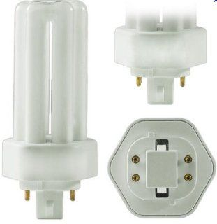 PL26W/3U/4P/865 25 Pack 26 Watt T4 GX24q 3 Triple Tube 4 Pin 10, 000 Hour 6500K Dimmable Plug In Compact Fluorescent Light Bulb