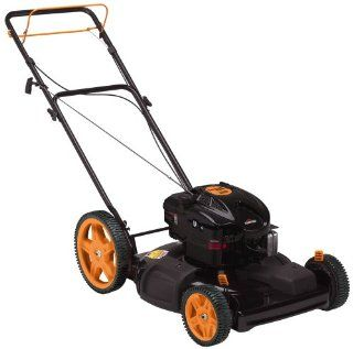 Poulan Pro PR625Y22SHP 22 inch 625 Series Briggs & Stratton Gas Powered FWD Self Propelled Lawn Mower with High Rear Wheels (Discontinued by Manufacturer)  Walk Behind Lawn Mowers  Patio, Lawn & Garden