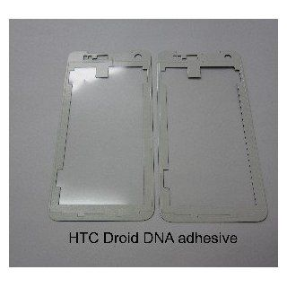 Pre customized Adhesive for HTC Droid DNA Touch Screen Digitizer Front Glass Screen Lens Glue Tape
