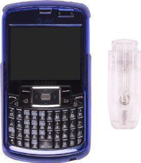 Wireless Solutions On Case for Samsung SGH i637   Blue Cell Phones & Accessories