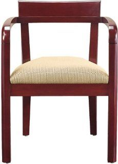 High Point Furniture Accent Wood Guest Chair Open Back 683  Desk Chairs