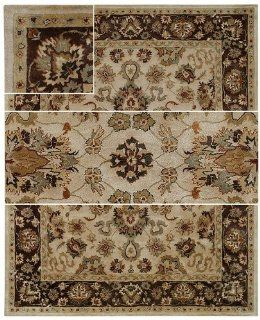 Capel Rugs Regal Persian Collection 650 Cream 5' x 8'   Area Rugs
