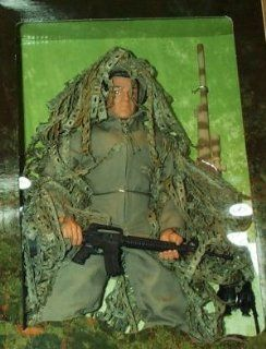 "G.I. Joe U.S. Marine Corps Sniper 12"" Action Figure Toys & Games"