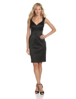 Jessica Simpson Women's Satin Dress with Exposed Zipper