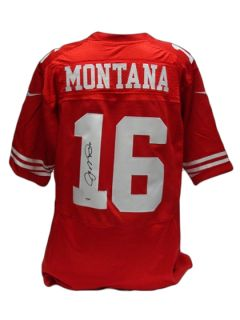 Joe Montana Signed San Francisco 49ers Jersey by Brigandi Coins and Collectibles