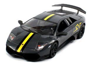 Licensed Lamborghini Murcielago LP670 4 SV Electric RC Car 118 DX RTR (Colors May Vary) Authentic Body Styling Toys & Games