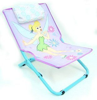 Disney Tinkerbell Kid's Foldable Indoor Outdoor Sling Chair   Childrens Folding Chairs