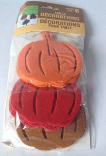 Thanksgiving/fall Pumpkin Table Decorations Health & Personal Care