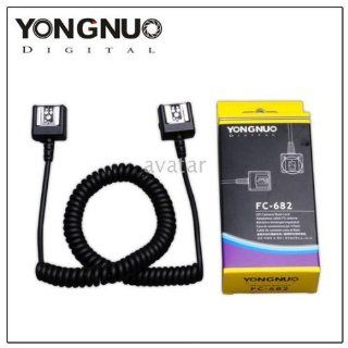 TTL Off Camera Flash Extension Shoe Sync Cord FC 682  Camera Flash Synch Cords  Camera & Photo