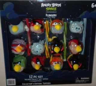 Angry Birds Space Flingers Toppers 12 Pcs Set Toys & Games
