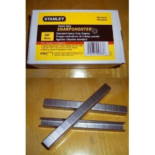 Stanley TRA706 5C 5, 000 Qty. 3/8 Inch Leg 3/8 Inch Crown .050 Inchx.022 Inch Gauge Heavy Duty Staple   Hardware Staples