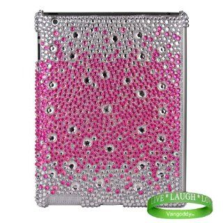 Bedazzled Diamond Purple Cover Hard Case for all models of The New Apple iPad ( 3rd Generation, iPad3, wifi , + AT&T 3G , 16 GB , 32GB , MC707LL/A , MD328LL/A , MC705LL/A , MC706LL/A�, MD329LL/A , MD368LL/A , MC756LL/A , MC744LL/A , ect ) + Live Laug