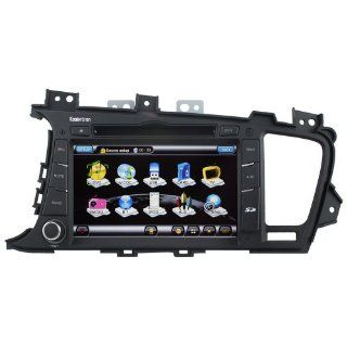 "Koolertron For KIA K5 & 2011 KIA OPTIMA Indash Car DVD Player with GPS Navigation System Multimedia AV Receiver and 8"" HD touchscreen and Bluetooth (OEM Factory Pannel Design, Free Map)  Vehicle Dvd Players"