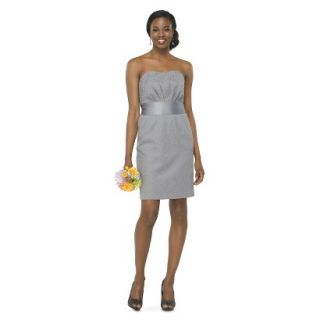 TEVOLIO Womens Lace Strapless Dress   Cement   8