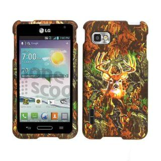 For Lg Optimus F3 (sprint ) Ls720 Camo Deer Hunter Case Accessories Cell Phones & Accessories