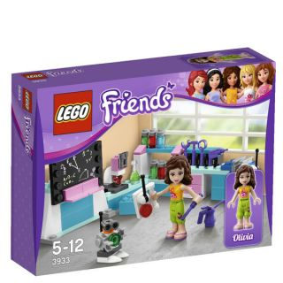 LEGO Friends Olivias Inventors Workshop (3933)      Toys