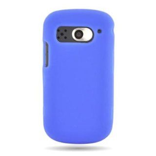 WIRELESS CENTRAL Brand Silicone Gel Skin BLUE Sleeve Rubber Soft Cover Case for PANTECH 8995 BREAKOUT (VERIZON) [WCH842] Cell Phones & Accessories