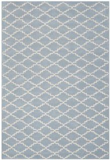 Shop Safavieh CHT721B Chatham Collection Wool Handmade Area Rug, 8 Feet by 10 Feet, Blue and Ivory at the  Home D�cor Store. Find the latest styles with the lowest prices from Safavieh