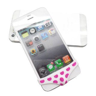 Pink Dots Sexy iPhone 5 or iPhone 5s Pants Home Button Protector Dock Dustproof And Decoration Cell Phones & Accessories