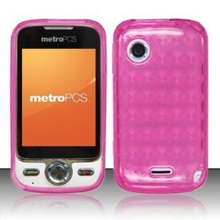 HUAWEI M735, Pink Argyle Hard Gel Candy Skin Cover  Other Products