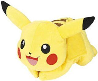 "Takara Tomy Pokemon Diamond & Pearl Pikachu 12"" Plush Puppet Toys & Games"