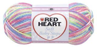 Red Heart E746.9937 Soft Baby Steps Yarn, Giggle