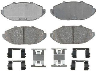 ACDelco 17D748CH Professional Durastop Front Ceramic Disc Brake Pad Kit Automotive
