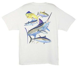 Guy Harvey Atlantic Big Game T Shirt Clothing