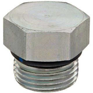 "Eaton Aeroquip 900598 10S Steel Tube Fitting, Hex Head Plug, 7/8"" O Ring Boss Male Threaded Tube Fittings"