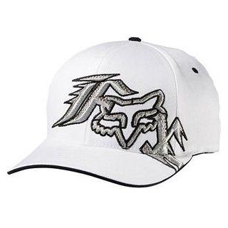 Fox Racing Unify Flexfit Hat   Large/X Large/White Automotive