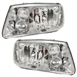 New Headlamp Headlight   OEM 1J5941017AH, OEM 1J5941018AH, Pair Set Automotive