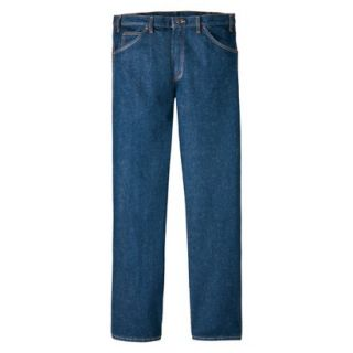 Dickies Mens Regular Fit 5 Pocket Jean   Indigo Blue 56x32