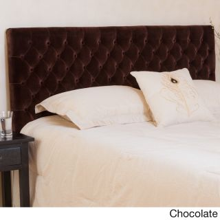 Christopher Knight Home Christopher Knight Home Bolton Adjustable Button Tufted Headboard Brown Size Queen