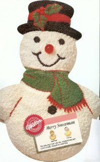 Wilton Merry Snowman Christmas Holiday Cake Pan (2105 803, 1989) Retired Kitchen & Dining