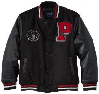U.S. Polo Association Boys 2 7 Varsity Jacket Clothing