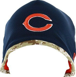 2013 Chicago Bears Salute To Service Knit Hat  Sports Fan Beanies  Sports & Outdoors