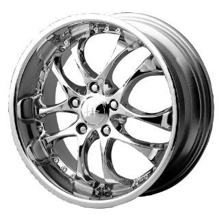 "Helo HE825 Chrome Wheel   (16x7""/5x4.5"") Automotive"