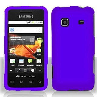 Purple Hard Cover Case for Samsung Galaxy Prevail SPH M820 Cell Phones & Accessories
