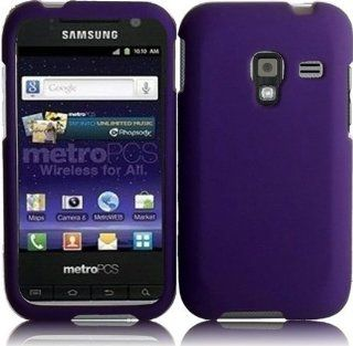 Samsung Galaxy Admire 4G R820 ( Metro PCS ) Phone Case Accessory Sensational Purple Hard Snap On Cover with Free Gift Aplus Pouch Cell Phones & Accessories