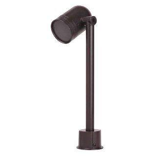 Thomas & Betts K831BR Red Dot Sitelight Swivel Light With 13 by 2 Inch Schedule 40 PVC Mounting Tube, 17.5 Inch Total Height, Bronze Finish   Landscape Path Lights