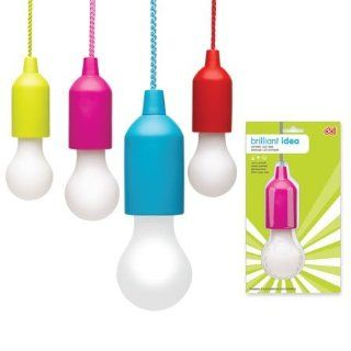 DCI Brilliant Idea Bulb, Red/Green/Blue/Pink
